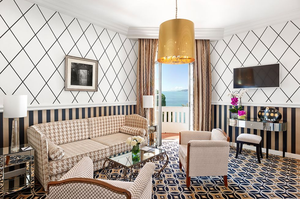 Suite at Hotel Belles Rives - Antibes